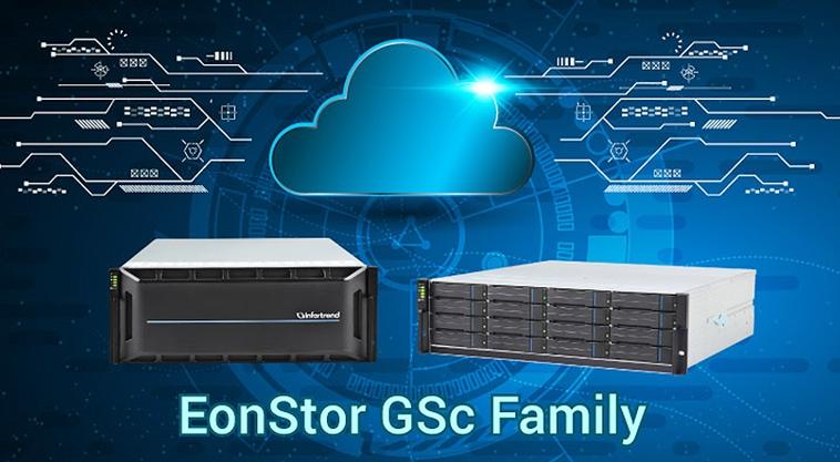 Webinarium pamięci masowych Infortrend EonStor GS